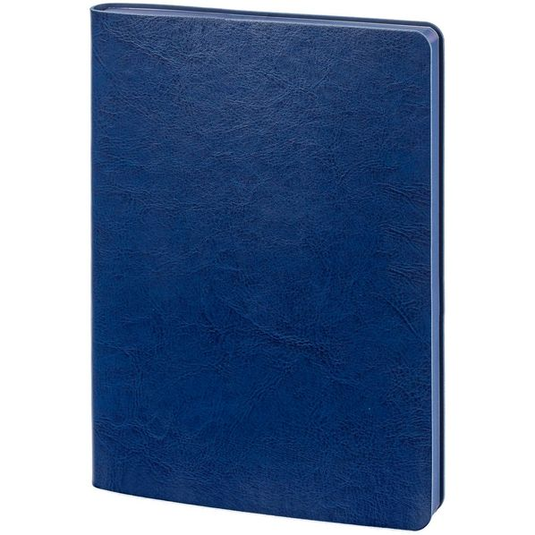 Ежедневник недатированный Контекст Slip А5, синий - фото № 1
