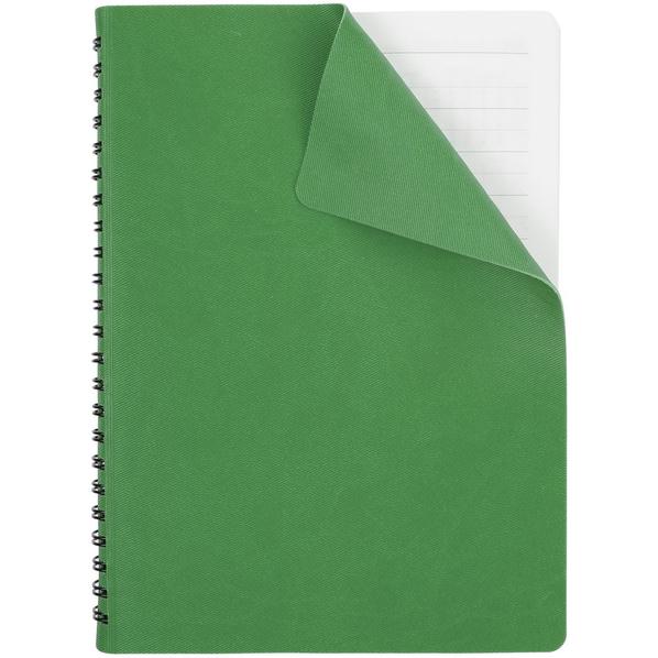 Ежедневник недатированный Twill, зеленый - фото № 1