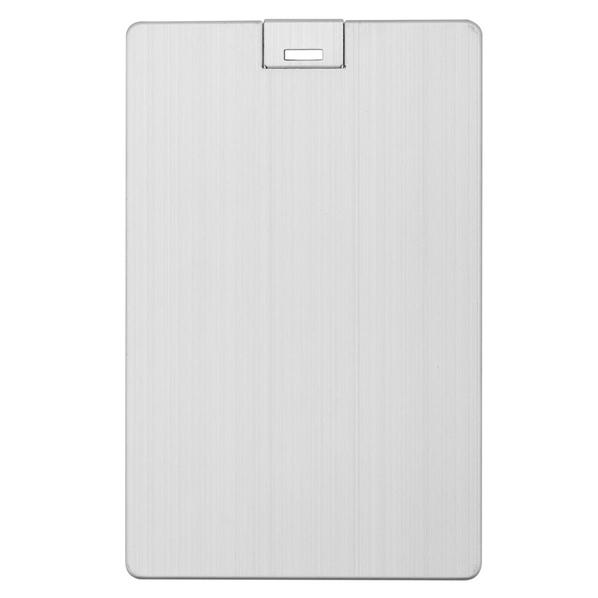 Флешка Platinum Card, 16 Гб, серебристая - фото № 1
