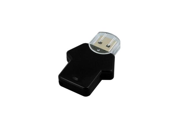 Флешка USB 3.0 на 32 Гб в виде футболки, чёрная - фото № 1