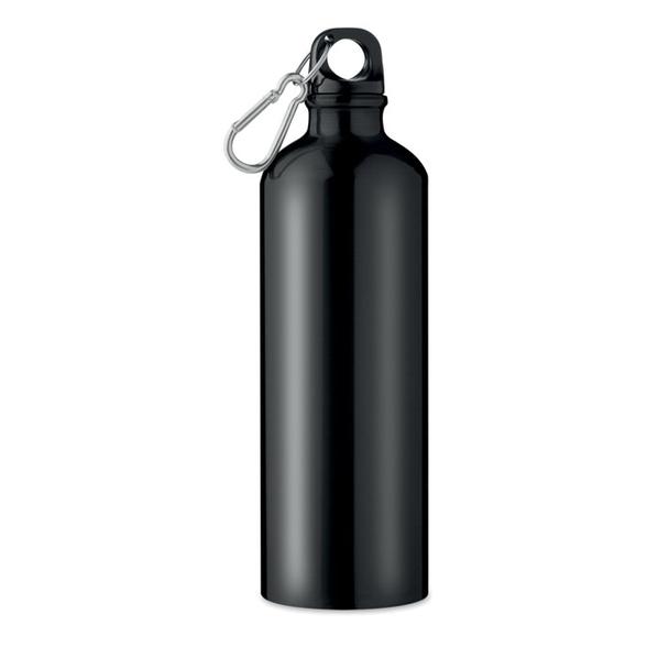 Бутылка 750 мл, черная - фото № 1