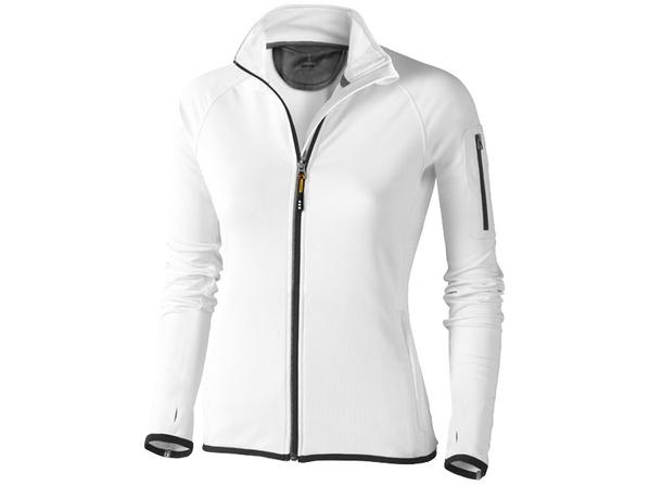 Куртка флисовая женская Elevate Mani, белая - фото № 1