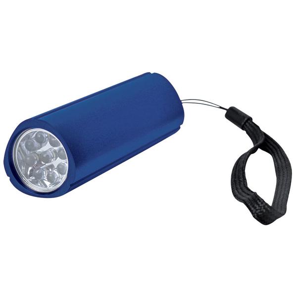 Фонарь треугольный (9 LED), синий - фото № 1