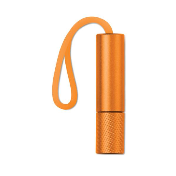 Фонарик, алюминий, оранжевый - фото № 1
