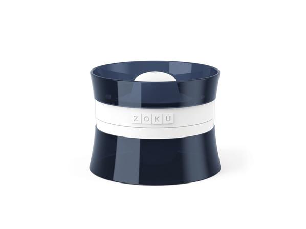 Форма для льда 2х118 мл Zoku Jack, чёрная / белая