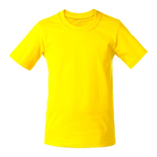 Футболка детская T-Bolka Kids, желтая - фото № 1