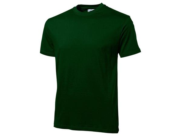 Футболка мужская US Basic Heavy Super Club, темно-зеленая - фото № 1