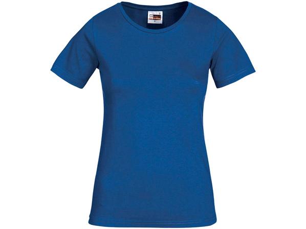 Футболка женская US Basic Heavy Super Club, синяя - фото № 1