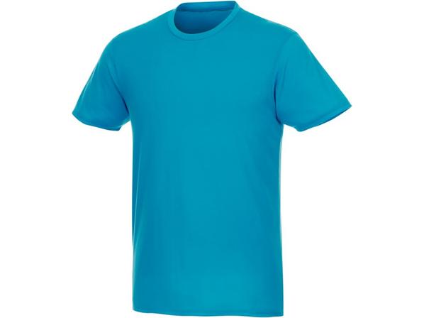 Футболка из переработанных материалов мужская Elevate Jade, голубая - фото № 1