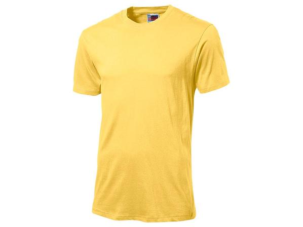 Футболка мужская US Basic Super Club, желтая - фото № 1