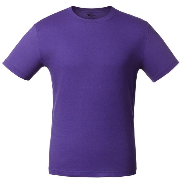 Футболка унисекс T-Bolka 140, фиолетовая - фото № 1