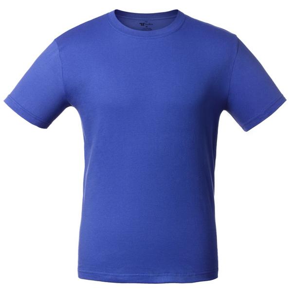 Футболка унисекс T-Bolka 160, ярко-синяя - фото № 1