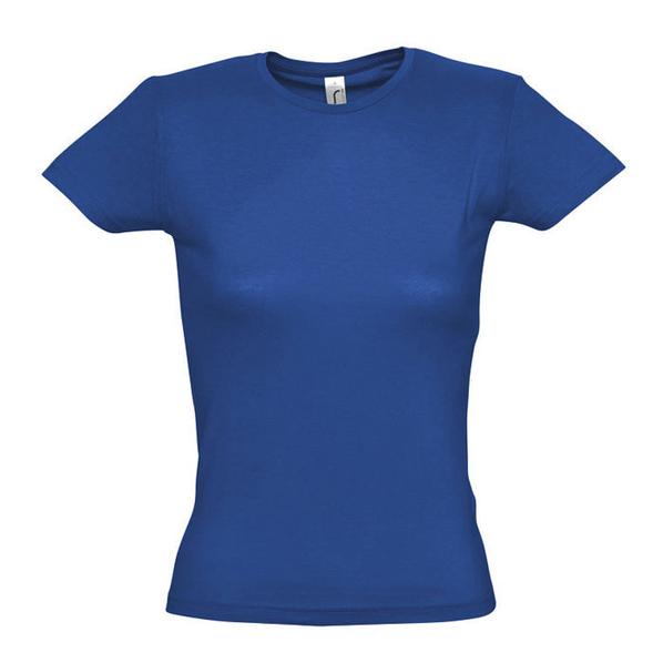 Футболка женская Sol's Miss 150, ярко-синяя - фото № 1
