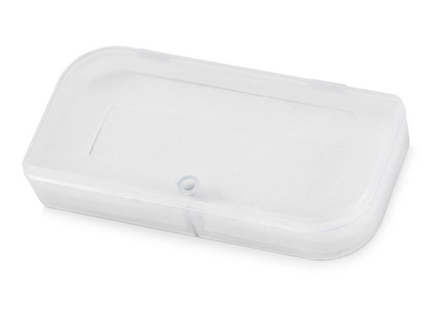 Футляр для флешки пластиковый, белый - фото № 1