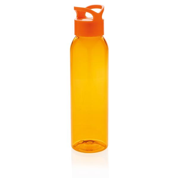 Герметичная бутылка для воды из AS-пластика, оранжевая - фото № 1