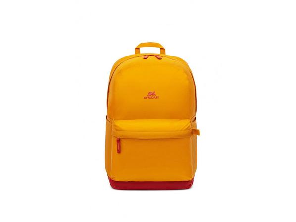 Рюкзак Rivacase для ноутбука до 15.6'', оранжевый/ красный - фото № 1
