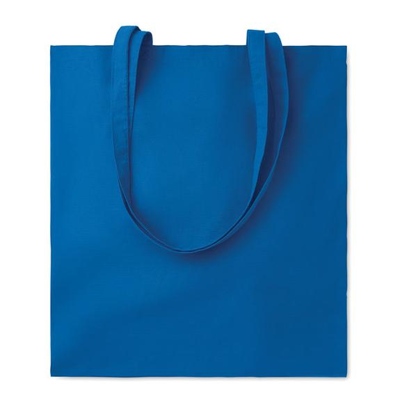 Хлопковая сумка, голубая, 180 гр/м2 - фото № 1