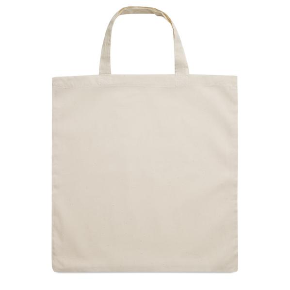 Хлопковая сумка, бежевая, 140 гр/м2 - фото № 1