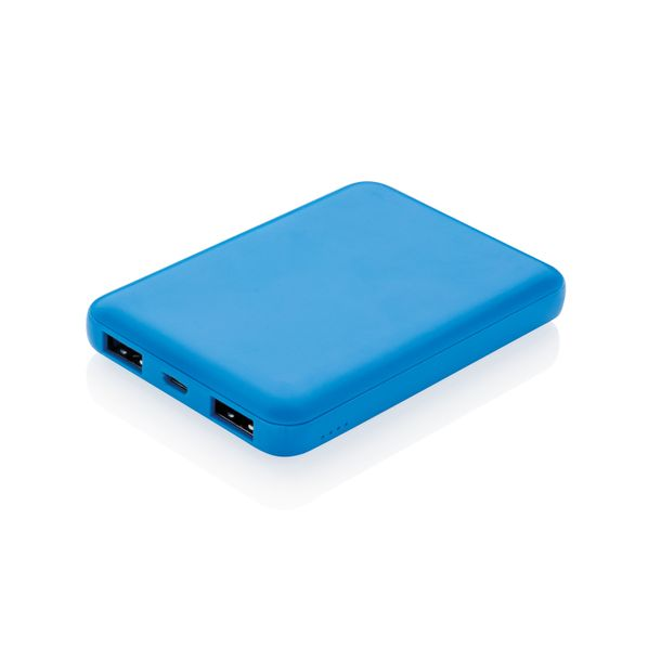 Внешний аккумулятор XD Collection, 5000 mAh, голубой - фото № 1