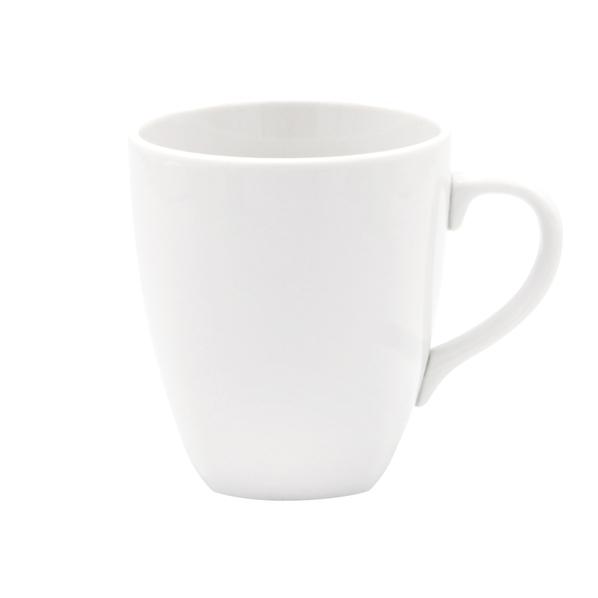 Ккружка фарфоровая «Фьюжн», белая - фото № 1