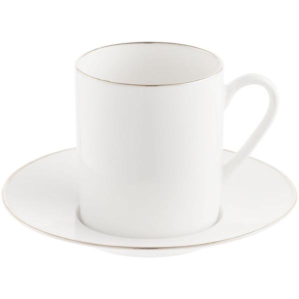 Кофейная пара Mansion, белая - фото № 1