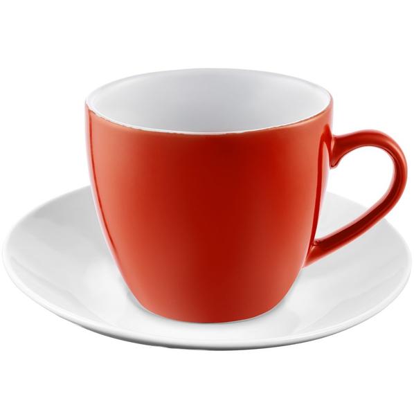 Кофейная пара Molti Refined, красная - фото № 1