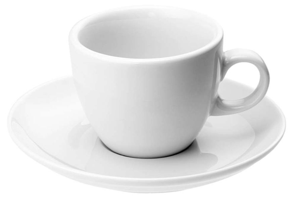 Кофейная пара Seltmann Meran, белая - фото № 1