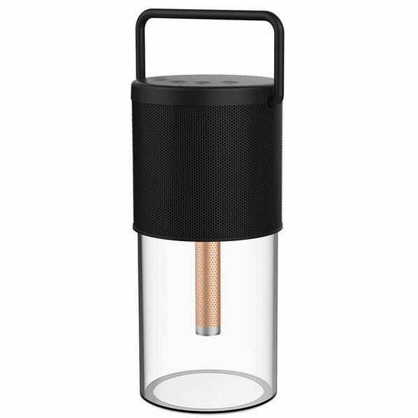 Колонка-светильник портативная Vipe, черная - фото № 1