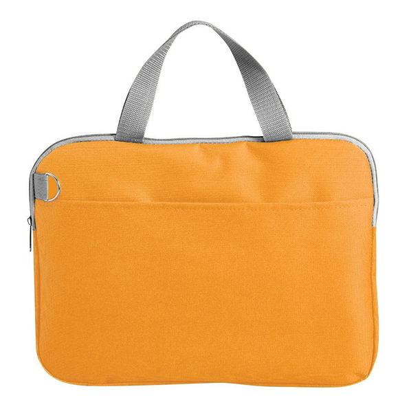 Конференц-сумка Тодес-2 отделением для ноутбука, оранжевый - фото № 1