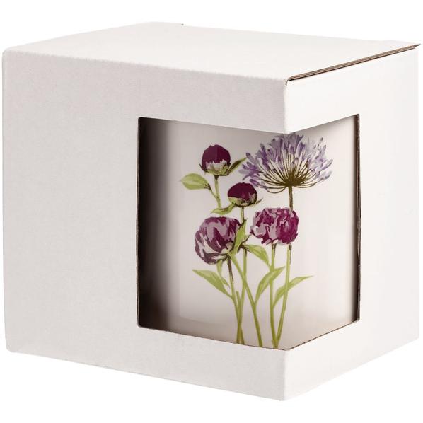 Коробка для кружки с окошком, белая - фото № 1