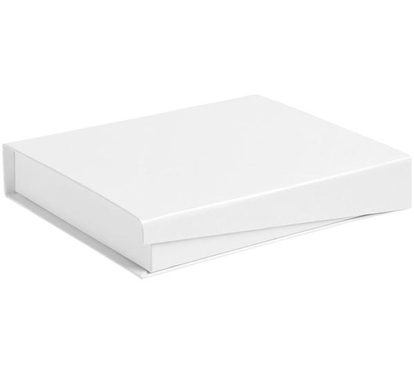 Коробка Duo под ежедневник и ручку, белая - фото № 1