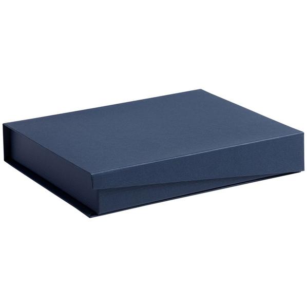 Коробка Duo под ежедневник и ручку, синяя - фото № 1
