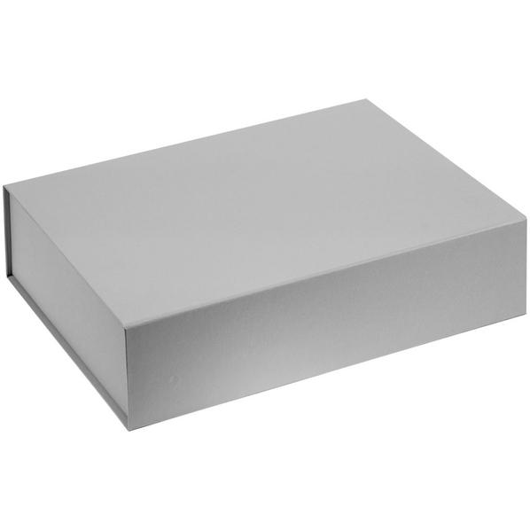 Коробка Koffer, серая - фото № 1