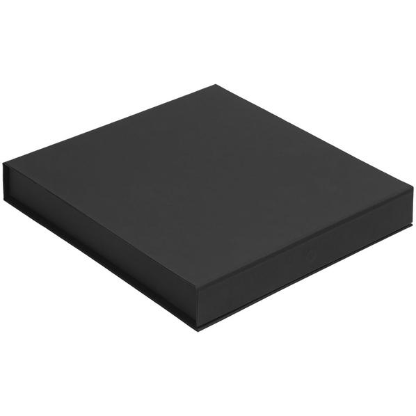 Коробка Memoria под ежедневник, аккумулятор и ручку, черная - фото № 1