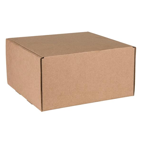 Коробка подарочная BOX, коричневый - фото № 1