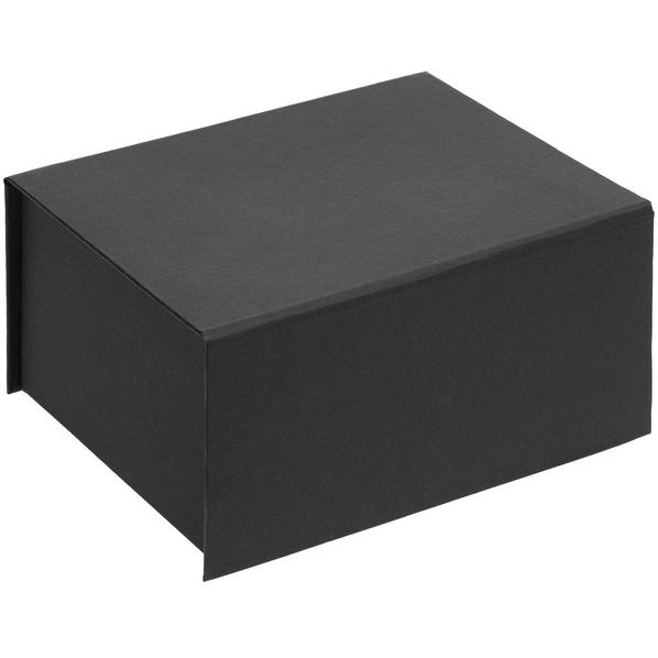 Коробка подарочная на магните Magnus, черная - фото № 1