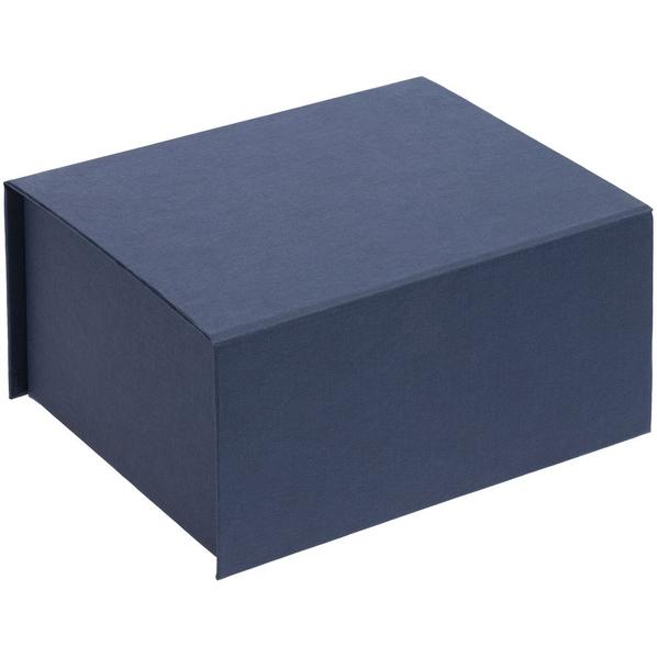 Коробка подарочная на магните Magnus, синяя - фото № 1