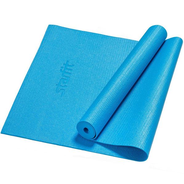 Коврик для йоги Asana, синий - фото № 1
