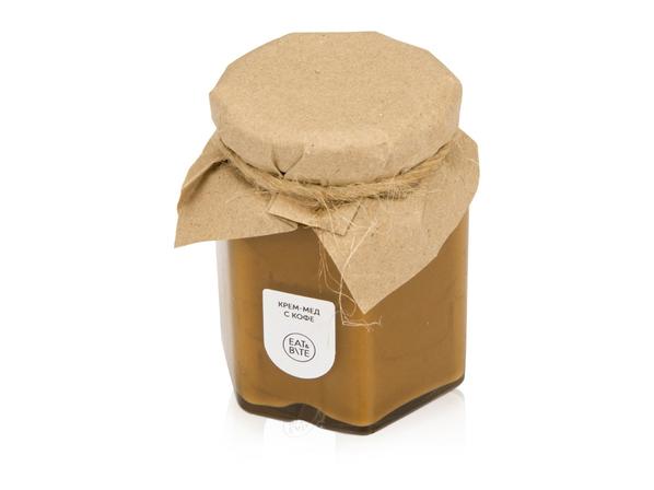 Крем-мед с кофе - фото № 1