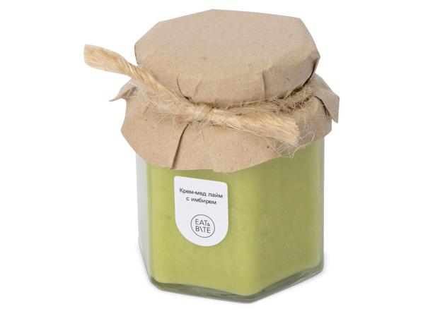 Крем-мёд с лаймом и имбирем - фото № 1