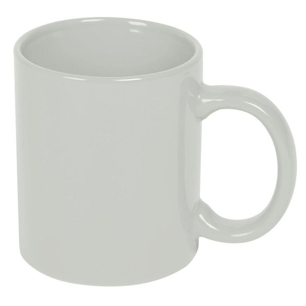 Кружка фаянсовая 320мл, белый - фото № 1