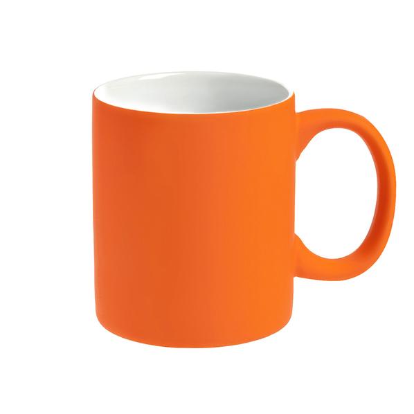 Кружка Bonn Soft, оранжевая - фото № 1