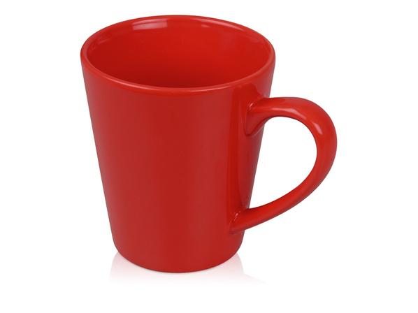 Кружка Cone, красный - фото № 1