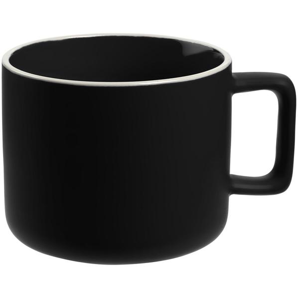 Кружка Fusion, черная - фото № 1