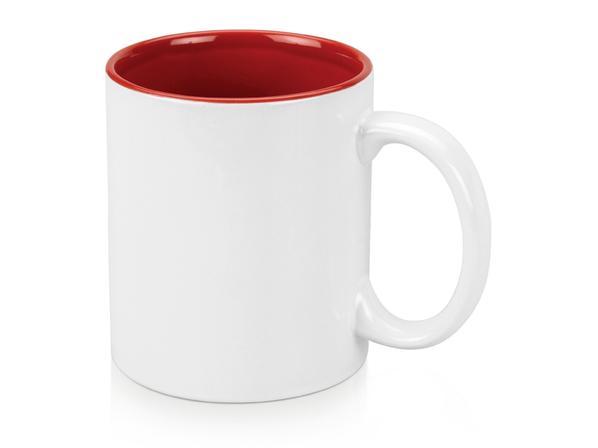 Кружка Gain, белый/ красный - фото № 1
