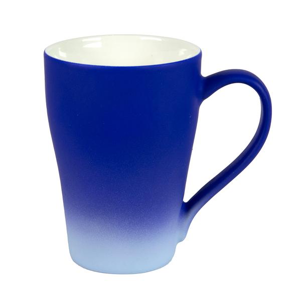 Кружка Grade с прорезиненным покрытием, синяя