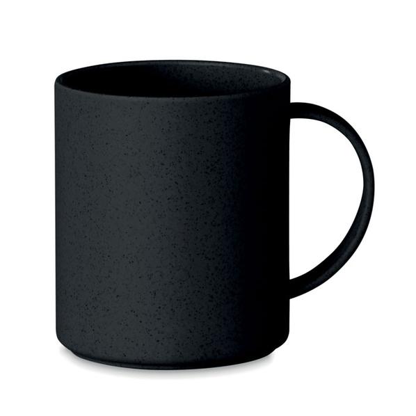 Кружка из бамбука, чёрная, 300 мл - фото № 1