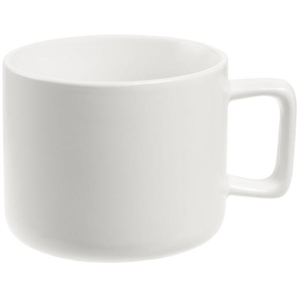 Кружка Jumbo матовая, белая - фото № 1