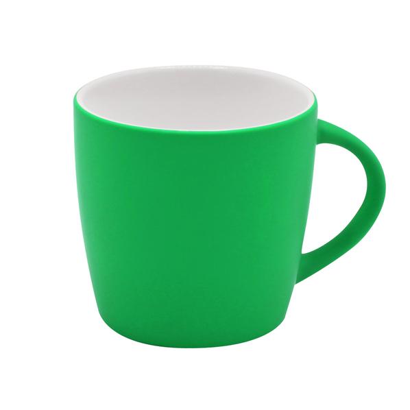 Кружка Marta Soft, зеленая - фото № 1