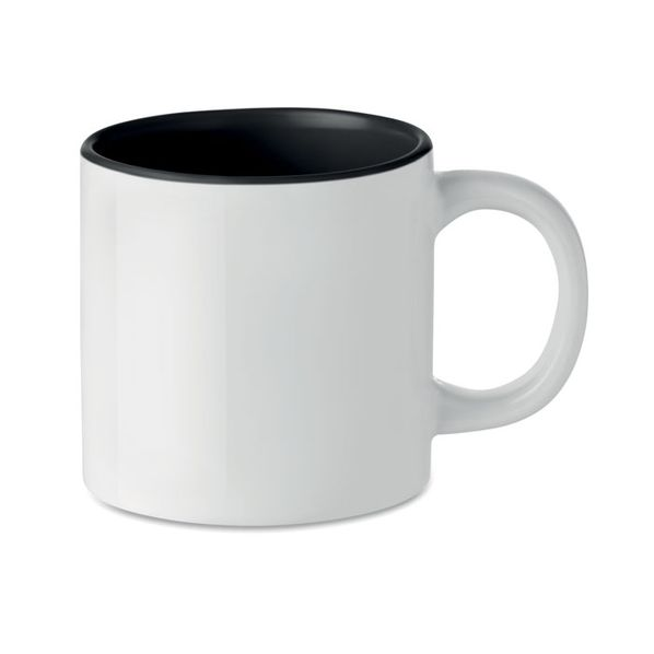 Кружка для сублимации, белый/черный - фото № 1